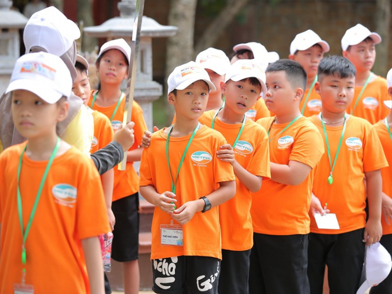 150 Con Em Khách Hàng Thân Thiết Của Viettel Tham Gia Trại Hè